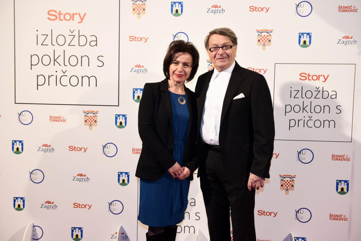 Mirka Jozić i Miroslav Ćiro Blažević