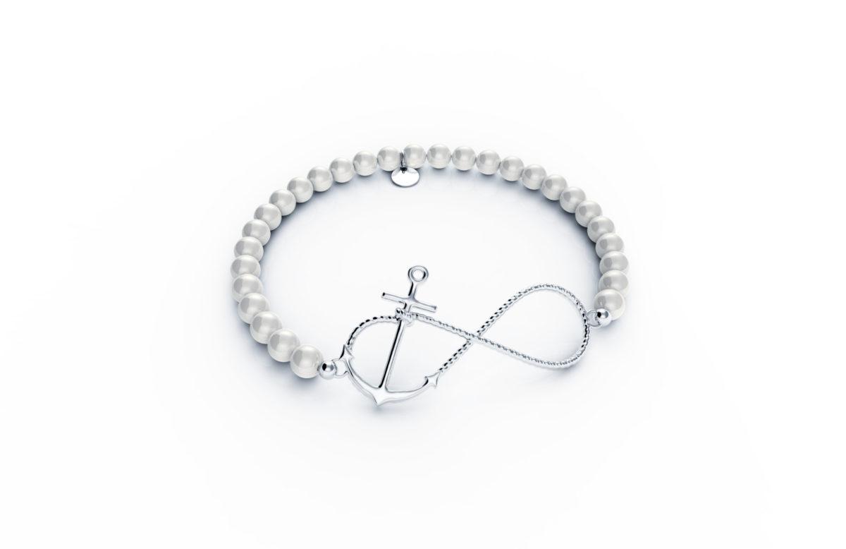 Zaks, narukvica sa srebrnim elementom, redovna cijena 380kn_snižena cijena 190kn