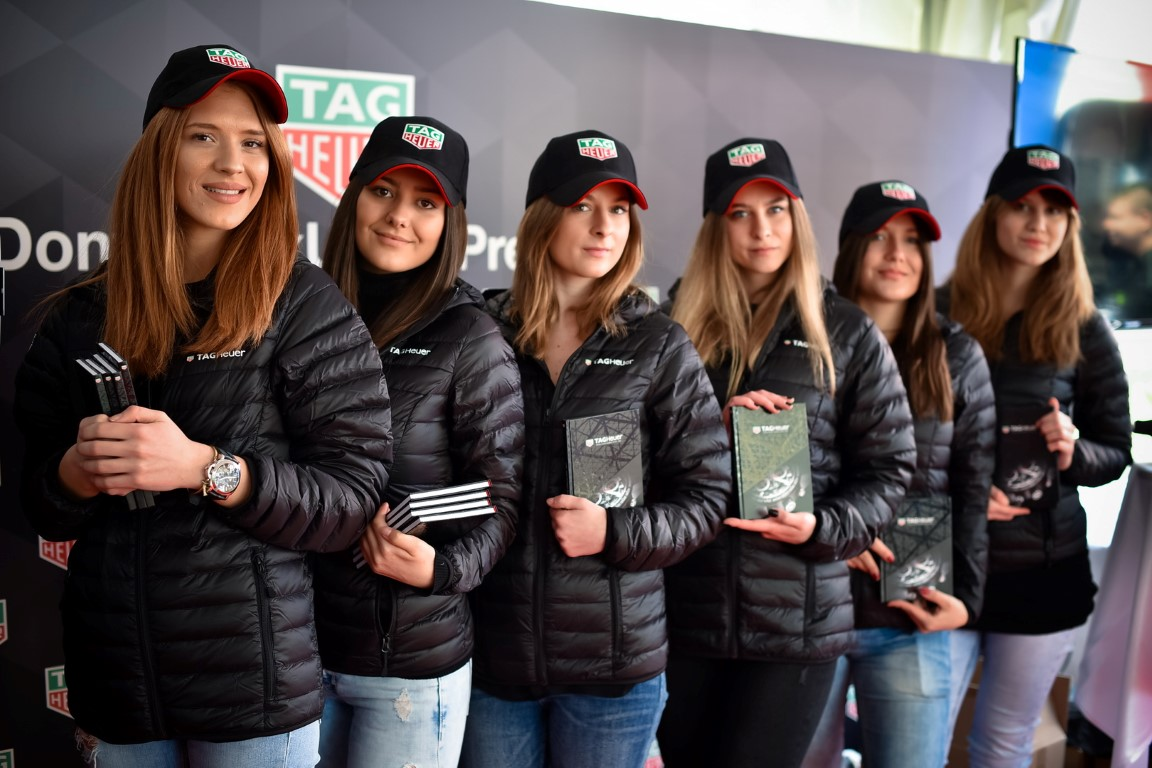 TAG Heuer hostese