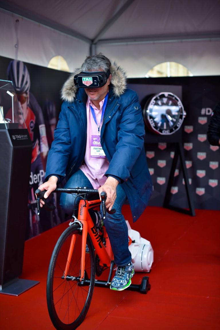 Dubravko Simenc na BMC biciklu