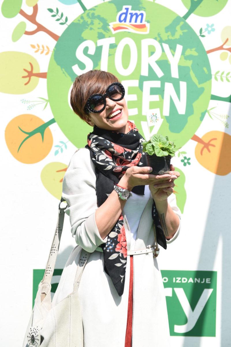 Ana Gruica na dm Story Green danu