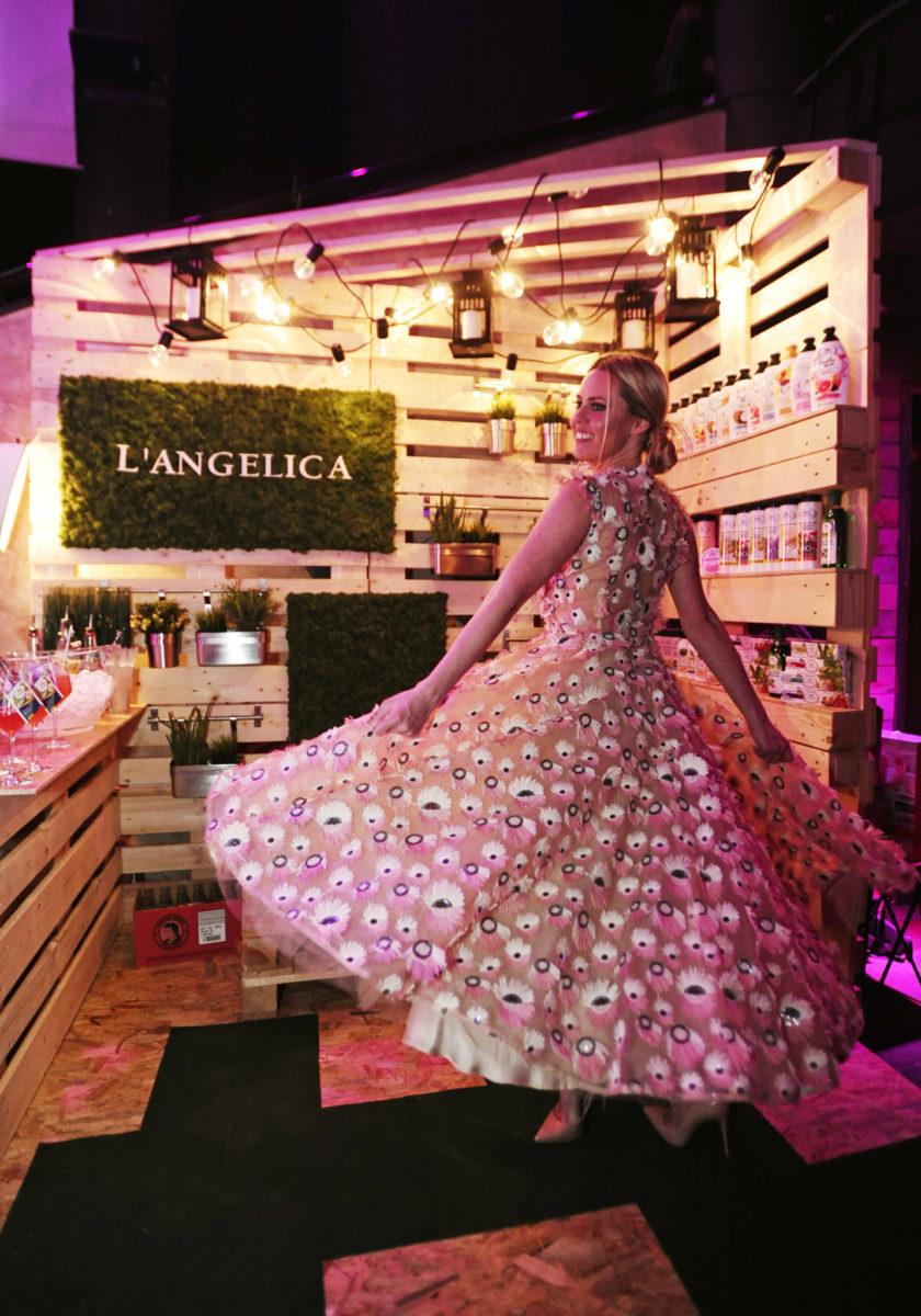 Andrea Andrassy na korneru L'Angelica