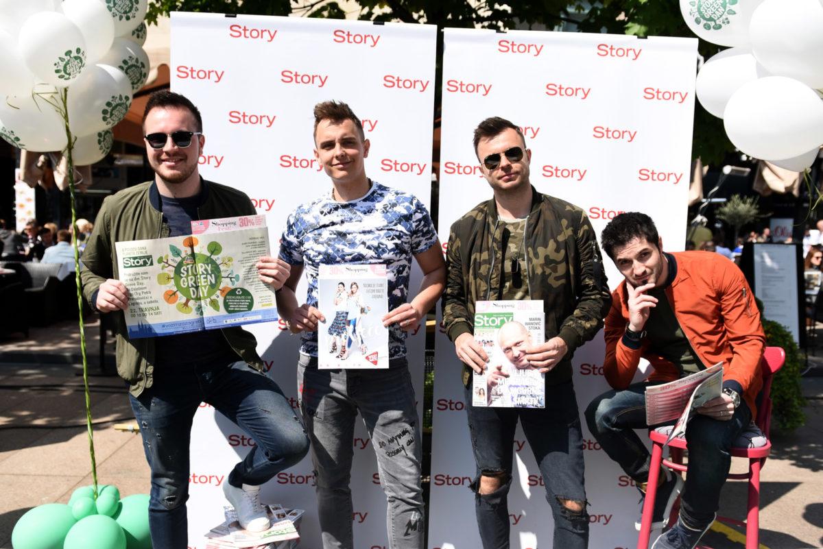 Dečki iz benda Pravila Igre prolistali su novi broj Storyja