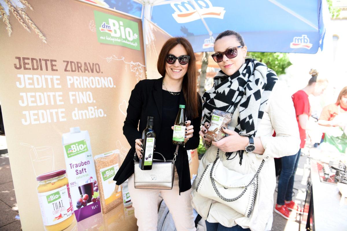 Đurđica Sedlić i Ana Salkić iz odjela marketinga u dm-u