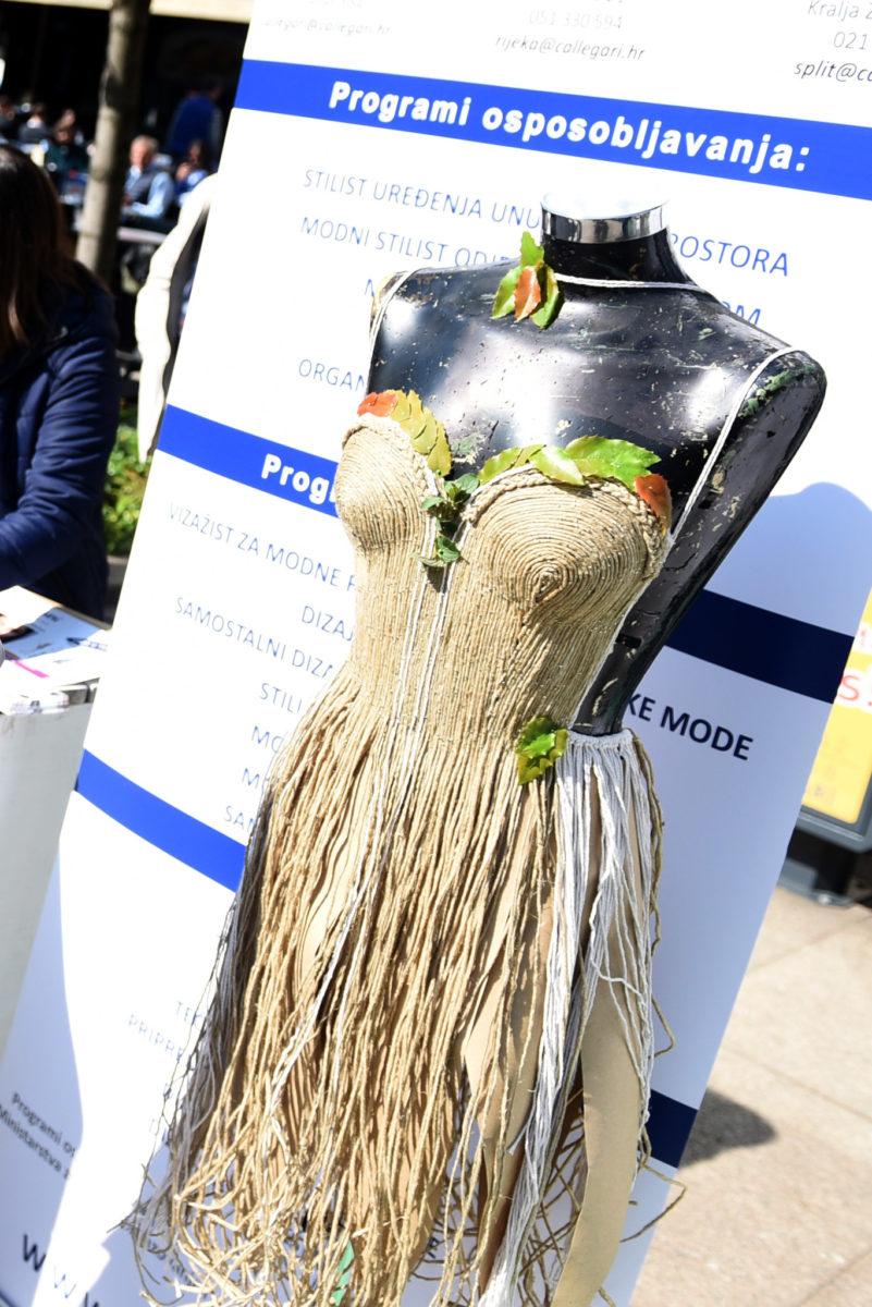 Eko kreacija modne škole Callegari Zagreb