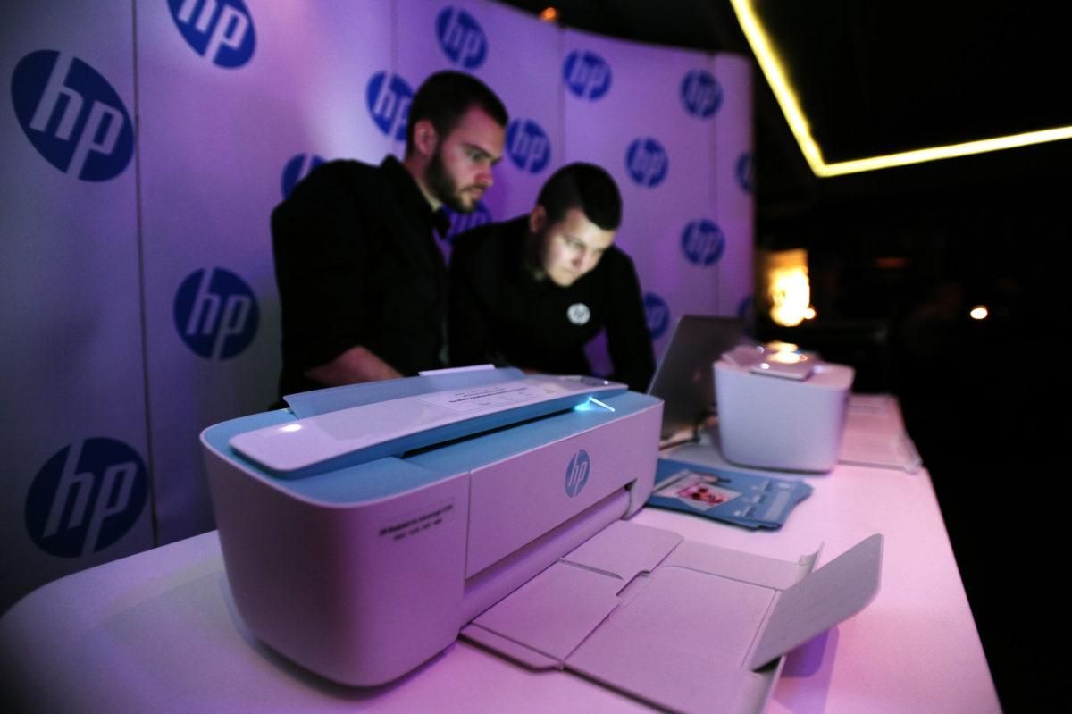 HP pisači ispisivali su fotografije s Cosmopolitan partija