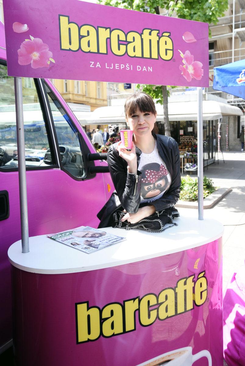 Ivana Delač Đolo oduševila se finim okusuma Barcaffe kave