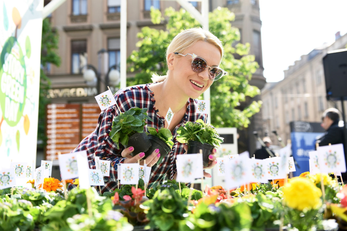 Pjevačica Ivana Marić podržala je dm Story Green dan