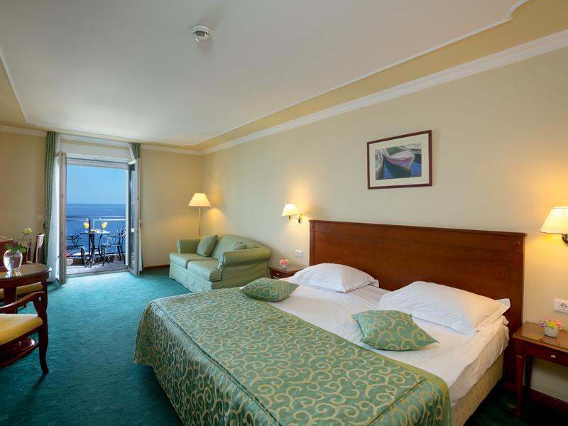 Superior soba u hotelu Grand hotel 4 opatijska cvijeta