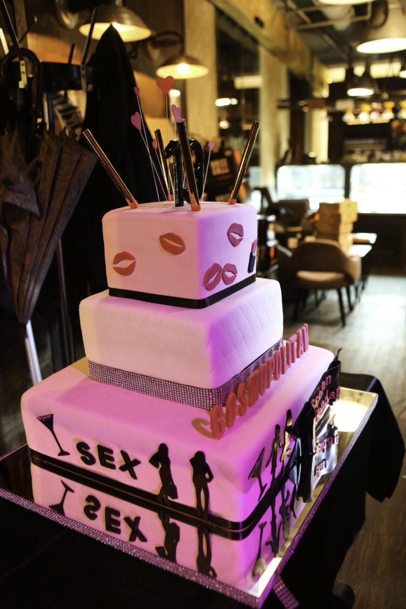 Veličanstvenu Cosmopolitan tortu pripremila je slastičarnica Vincek