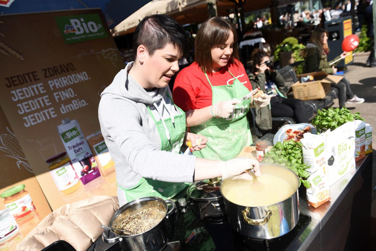 dm-ova kuhinja na toryGreen danu oduševila je brojne posjetitelje
