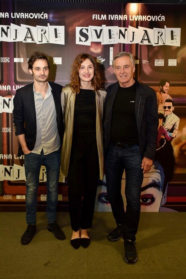 Iva Viskovic s ocem i Filipom Krizanom