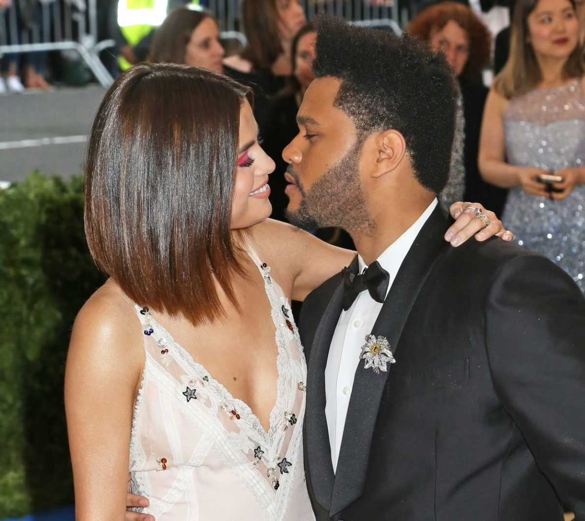 The Weeknd and Selena Gomez share the PDA at Met Gala